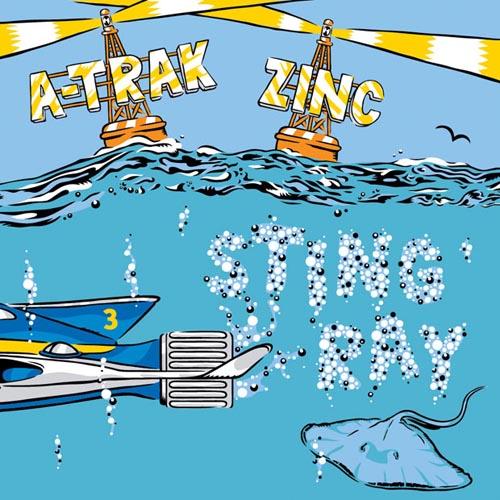 A-Trak Zinc Stingray Benga Remix