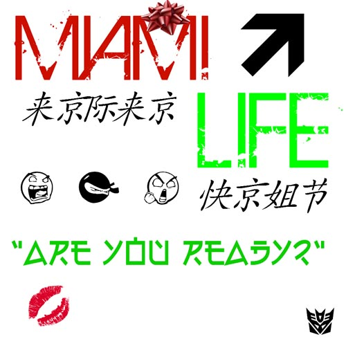 Miami Life Are You Ready Artwork