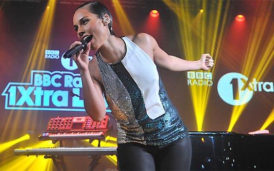 Alicia Keys Radio 1Xtra Live