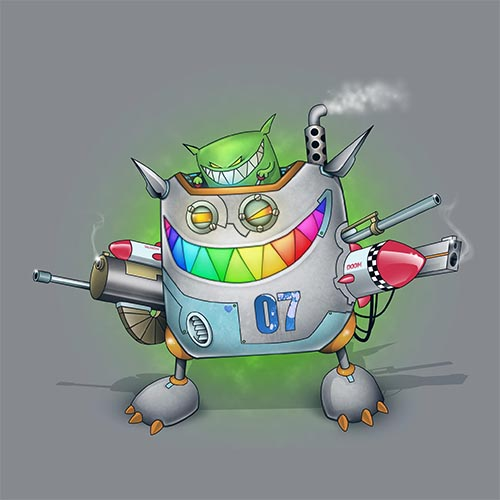 Feed Me Death By Robot