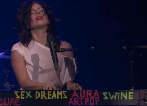Lady Gaga Swine Sex Dreams Artpop
