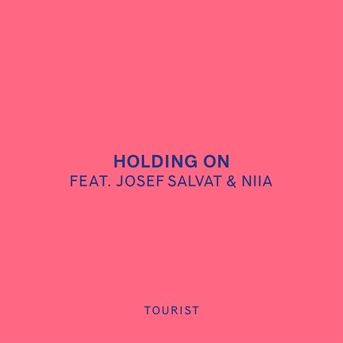 Tourist Holding On