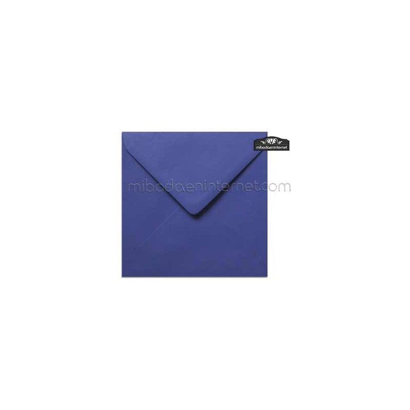 Sobre Cuadrado 15,5 Color Azul Morado - SWQC24