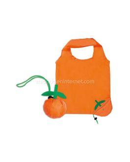 Bolsa Plegable Fruit Naranja