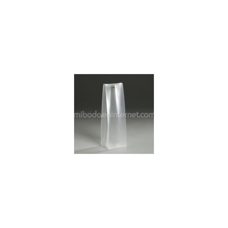 Estuche semitransparente vertical alto 4.5 x 14.2 x 3.5 cm