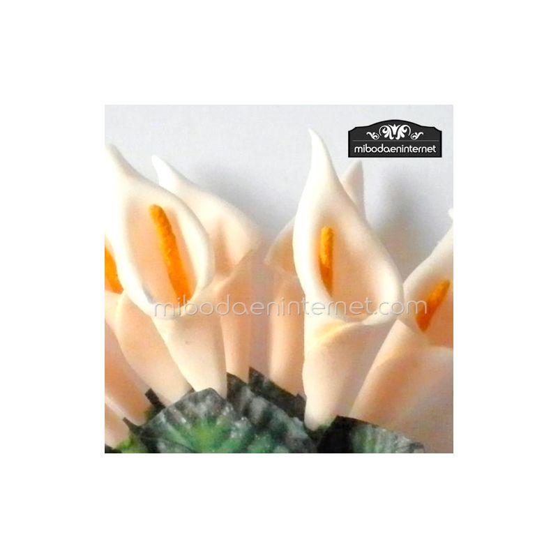 Flor Cala Beig grande pomo 10ud