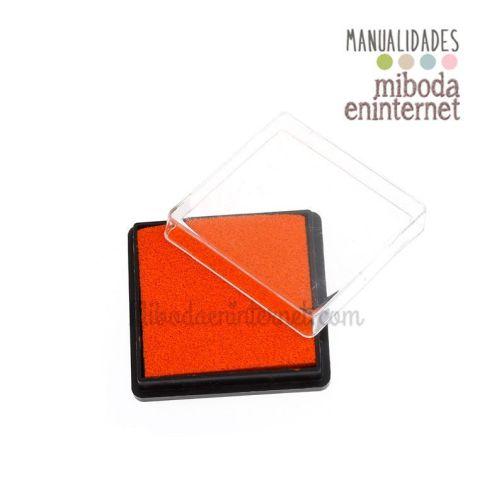 Tinta naranja para difuminar fondo laterales etiquetas y pergaminos