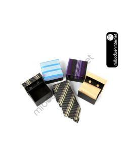 Set Corbata normal + Gemelos