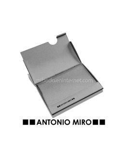 Tarjetero Aluminio Antonio Miro