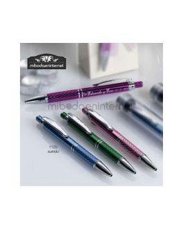 Bolígrafo Aluminio Colores Dibujo Surtido