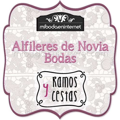 Alfileres Novia Bodas - Ramos y Cestas