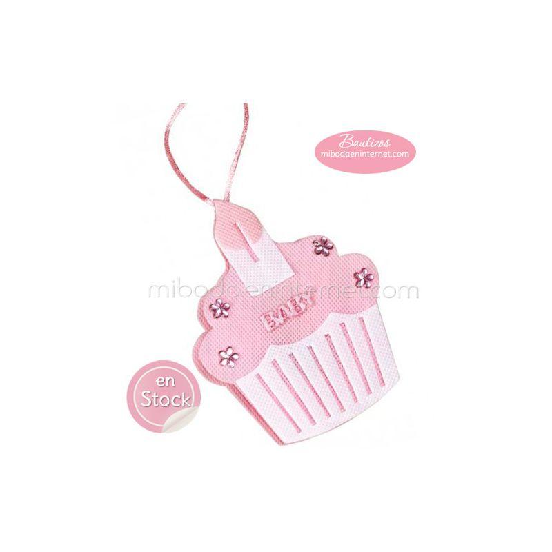 Bolsita Cupcake ROSA