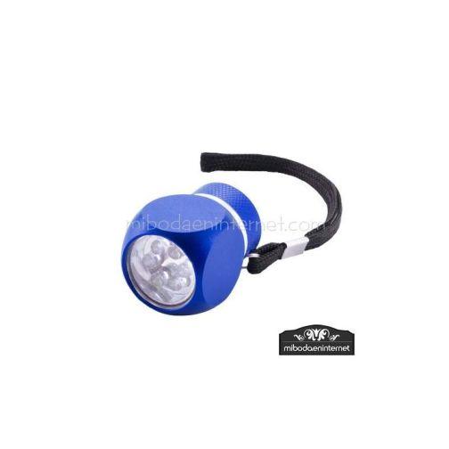 Linterna 6 Leds Aluminio Color