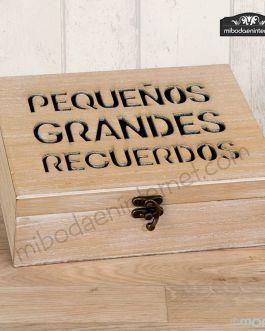 Cofre Madera Recuerdos