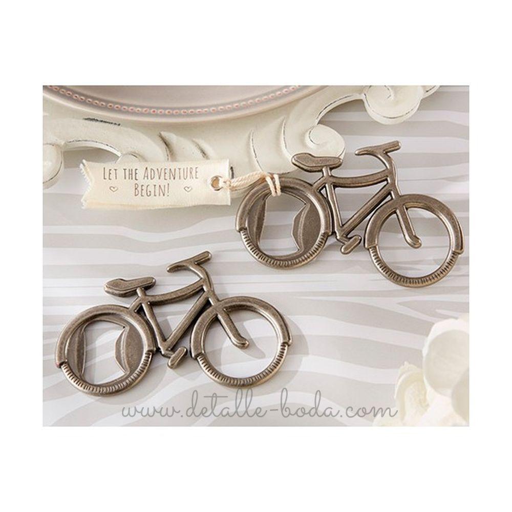 Abrebotellas Bicicleta Vintage en caja regalo
