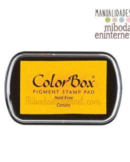 Tampon de Tinta Colorbox Amarillo sin ácido