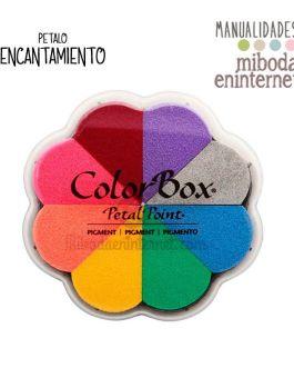 Tampon Colorbox 8 colores Petal Point Encantamiento