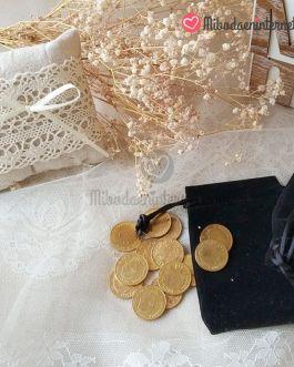 Set de 13 Arras Doradas 20mm monedas