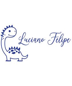 Personalizado Dinosaurio Bebé v1