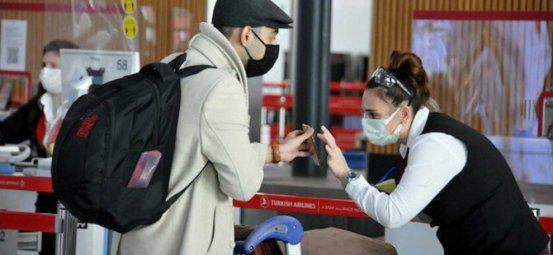 Η αίτηση δοκιμής PCR κατά την είσοδο στην Τουρκία ξεκινά στις 30 Δεκεμβρίου