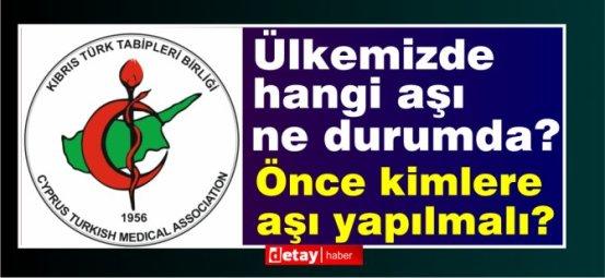 Δήλωση εμβολιασμού Covid από την Τουρκική Ιατρική Ένωση Κύπρου