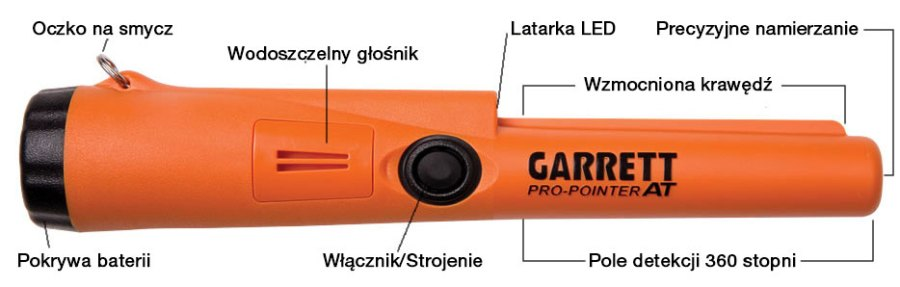 Garret Pro-Pointer AT - opis