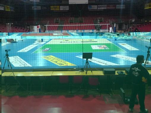 Championnat et de la coupe de volleyball italien