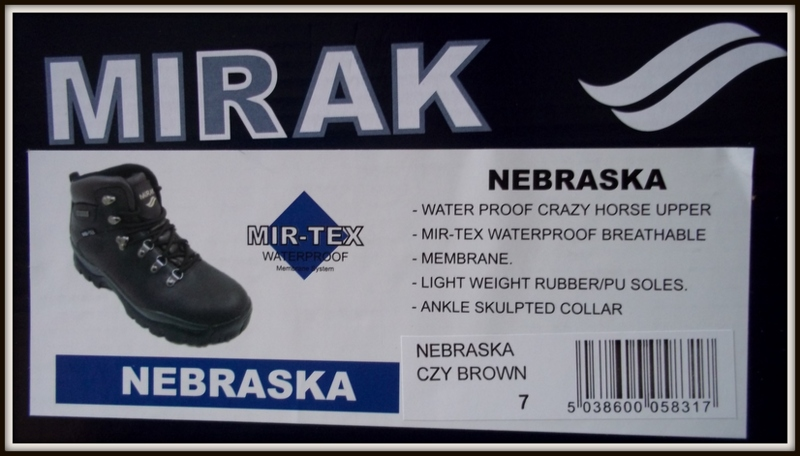 Mirak Nebraska Boot information
