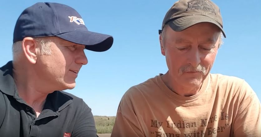 Gary interviews Darcy who found ancient coins while metal detecting in the UK