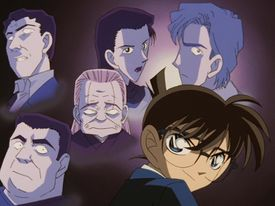 Image result for detective conan tottori spider mansion murder case