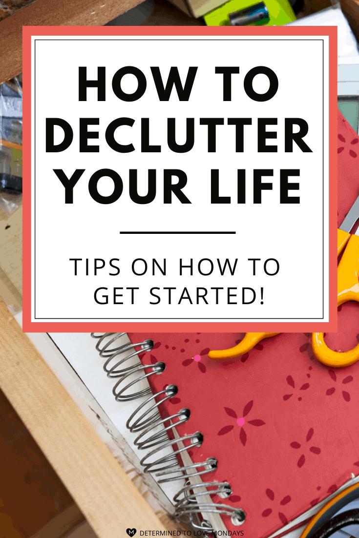 Feeling Stuck? Try Decluttering