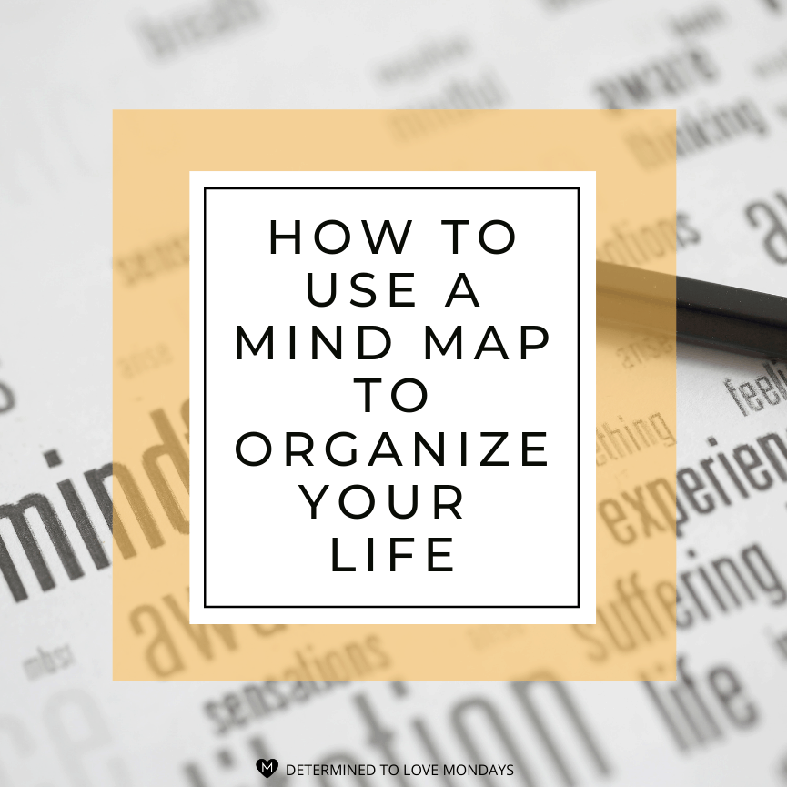 How to use a mind map to organize your life