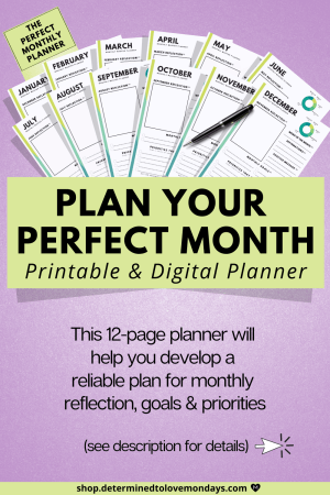 The Master Monthly Planner