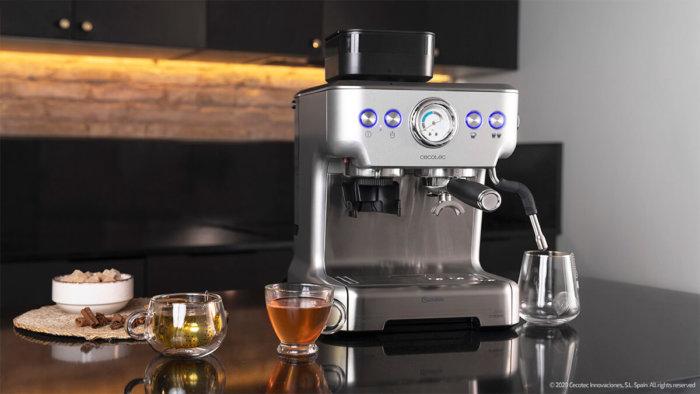Opinión de la cafetera Cumbia Power Espresso 20 3