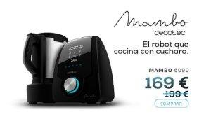 Oferta Flash de Mambo 6090 por 169 euros en Cecotec Store