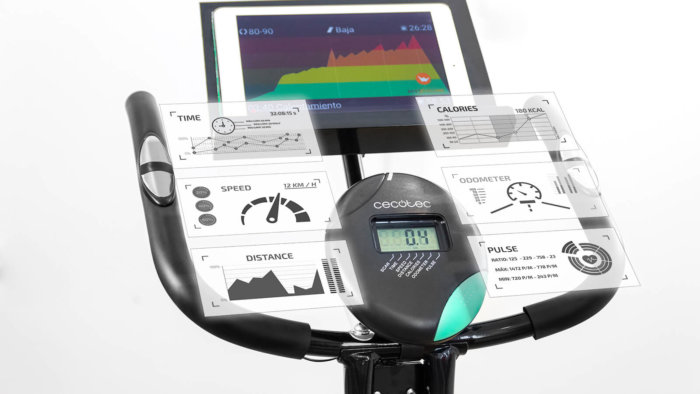Review y opiniones. Bici estática X-Bike Pro de Cecotec 2
