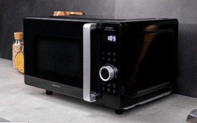 Review de nuevo microondas sin plato GrandHeat 2500 Flatbed Touch de Cecotec