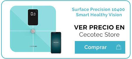 Review de las básculas de bioimpedancia Surface Precision 10400 de Cecotec 3