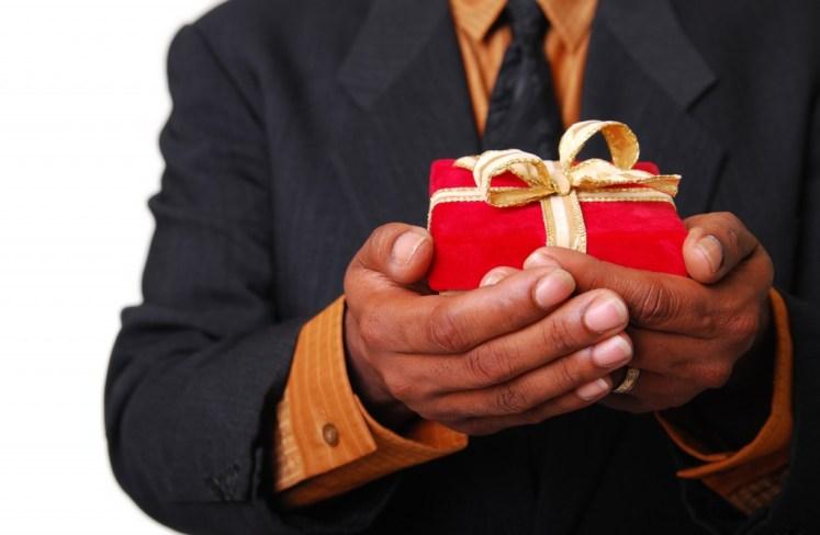 Agradecer con regalos