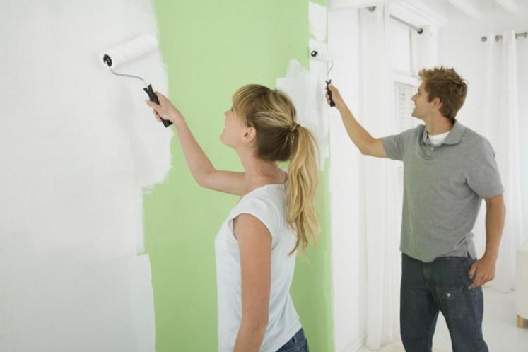 Pintando departamento