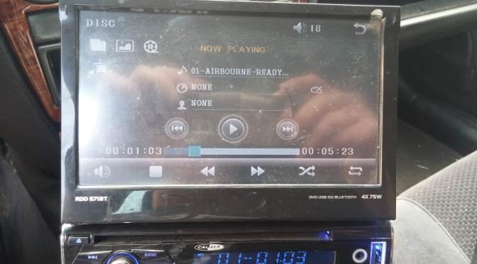 Caliber RDD571BT Autoradio – Display defekt
