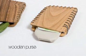 Wooden Purse die schmale Geldbörse für Karten und Geldscheine. Eine schmale Geldbörse die in jede Jacken- und Hosentasche passt. Ideal zum Aufbewahren von Geldscheinen sowie Bank- und Visitenkarten.