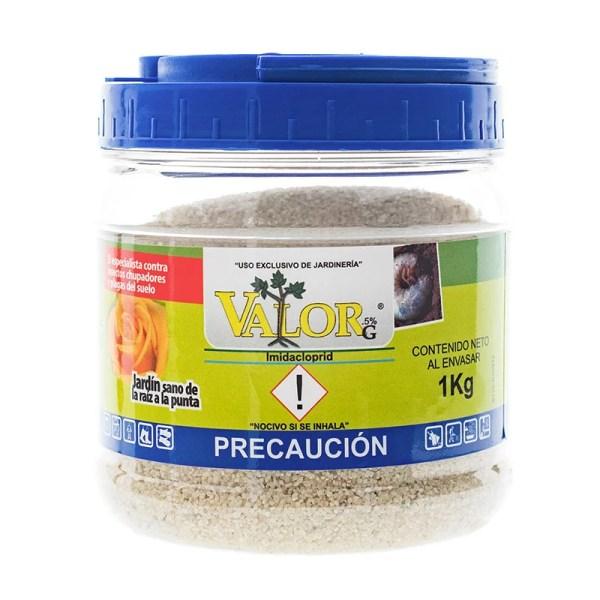 VALOR.5G es un insecticida granulado con efecto sistemático y de contacto para el control y prevención de insectos chupadores y plagas del suelo en plantas