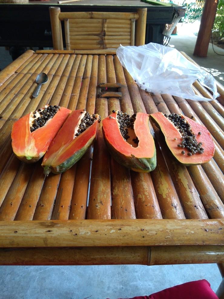 Savršeno zrela papaja