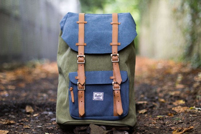 Herschel-Little-America-Heavy-Canvas-green-blue