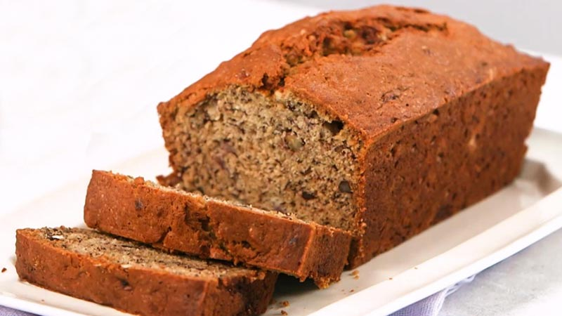 Banana Loaf with Sea Moss - www.detoxandcure.com