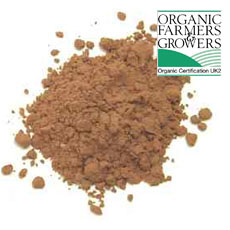 Cacao powder, certified organic, raw