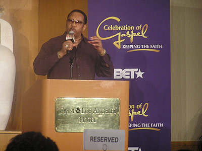 BET Celebration of Gospel Prayer Breakfast