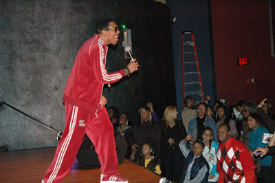 "Deitrick Haddon sings at ""Church On The Moon"" CD Release Party"
