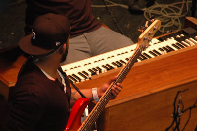 C. J. Alexander on guitar